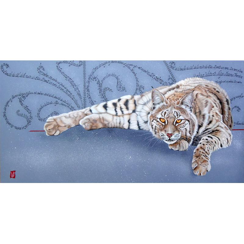 Snow bobcat